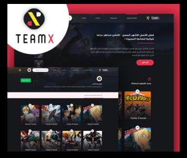 موقع مانجا TeamX